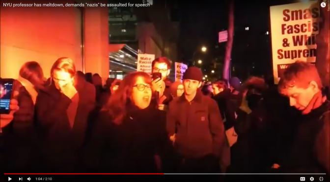 The Violent Destruction of the Left